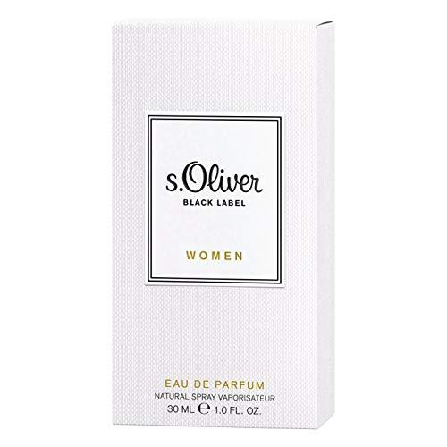 s.Oliver® BLACK LABEL Women I Eau de Parfum - eleganter, zeitloser Duft - für stilvolle Frauen I 30ml Natural Spray Vaporisateur