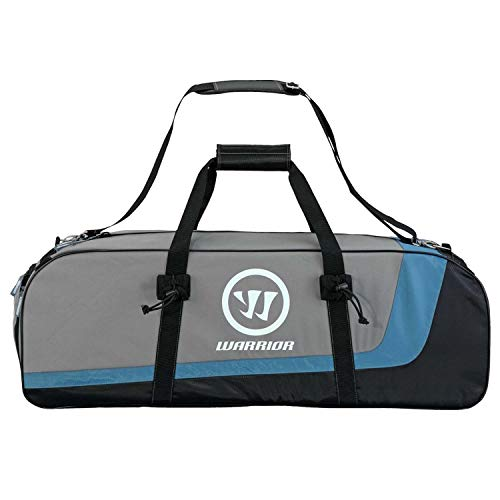 Warrior Black Hole Shorty Lacrosse Bag Black and Grey