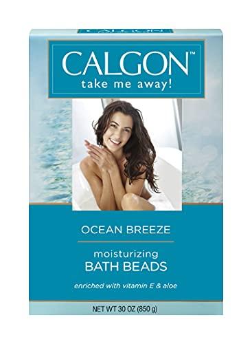 Calgon Ultra-Moisturizing Bath Beads, Ocean Breeze, 30 Ounce
