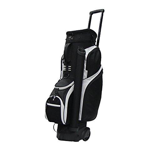 RJ Sports Spinner Transport Bag, 9.5', Black/Black