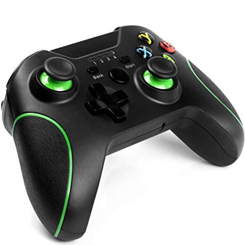 FFZQ Controlador de Juegos inalámbrico, Joystick del Controlador de Juegos Xbox One, Aplicar a Xbox One/One S/One X / PS3 / One Elite/Windows 10