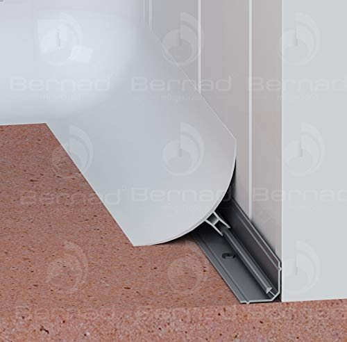 Perfil Sanitario PVC con Fijación en Aluminio - Paquete de 90 metros