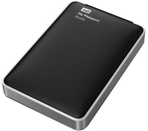 WD My Passport Studio externe Festplatte 2TB (6,4 cm (2,5 Zoll), USB 2.0, Firewire 800)