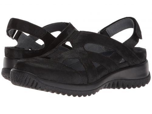 [ドリュー] レディース 女性用 シューズ 靴 サンダル Smiles – Black Microdot 9.5 M (B) [並行輸入品]