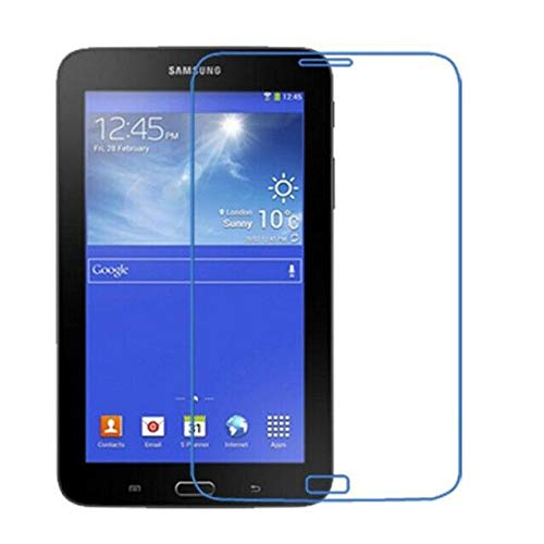 HIGHKY 9H Impossible Tech Protection/Temper Proof/Flexible Screen protector for Samsung Galaxy Tab 3 Lite T111 (1 9H Tab Screen Protector) -Not a Tempered Glass