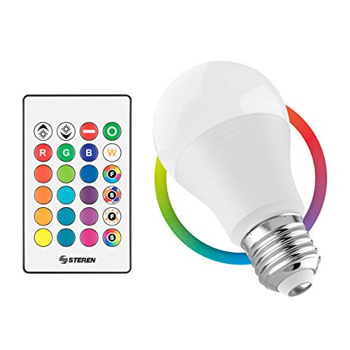 STEREN Foco LED RGB decorativo, 5 W