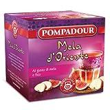 Pompadour 1913 Infuso alla Frutta Aromatizzato alla Mela e Fico - 1 x 10 Bustine di Tè (27,5 Grammi)
