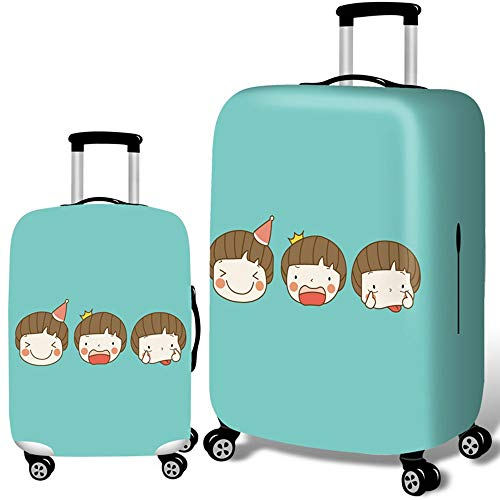 Luggage Cover 18-32 Inch Luggage Cover 3D Washable Spandex Travel Luggage Cover Suitcase Cover (Color : Child, Size : XL(29''-32'))