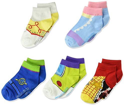 Toy Story niños, Todos los personajes, Fits Sock Size 5-6.5 fits Shoe Size 4-7.5