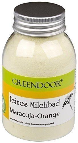 Greendoor Lait de bain fruit de la passion-Orange de la Manufacture de Cosmétique naturelle