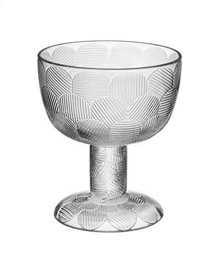 Iittala 1051294 Miranda Schale auf Fuß, Glas, klar