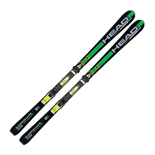 Head I. Supershape Magnum Performance Ski + PRX 12 S, Modelo de 2014/15, Green - Black/Green