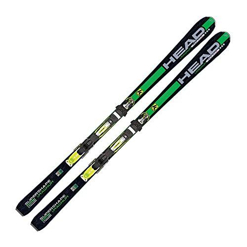 Head I. Supershape Magnum Performance Ski + PRX 12S, Modelo de 2014/15, Green - Black/Green