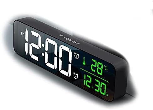 TASHM Fancy Digital HD LED Max 48% OFF Alarm Product f USB Powered Always-ON Clock