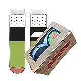 Sushi Socken Größe 35-41, Farbe weiss-grün