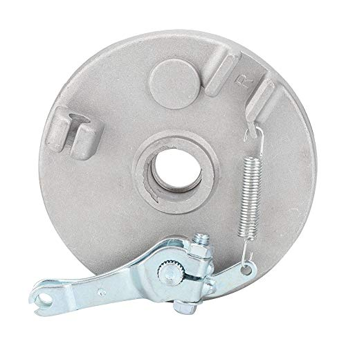 Enrilior Drum Brake Pad Rotor for Front Rear Wheel Brake Aluminum Cover Compatible with CRF50 10in 12in Small Wheel Rims