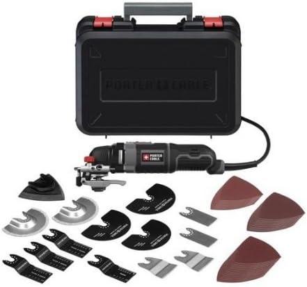 2021 Porter-Cable PCE605K52 3.0 Amps Oscilating Tool lowest Kit online sale 52 Accessories online sale