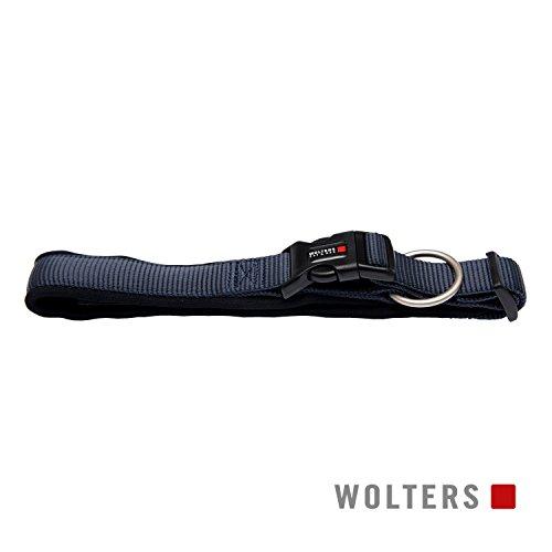 Wolters | Halsband Professional Comfort graphit/schwarz | Halsumfang 60 - 70 x B 4,5 cm