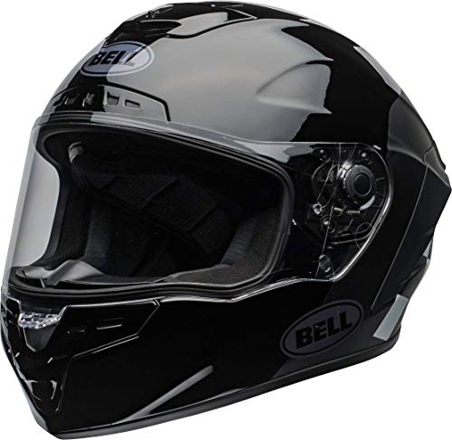 Bell Star DLX Lux Checkers Casco Nero/Bianco XL (61/62)