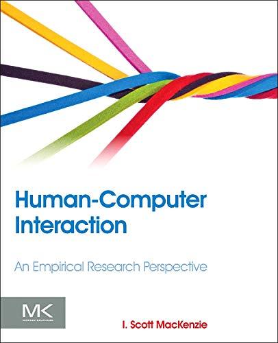 Human-Computer Interaction: An Empirical Research Perspective