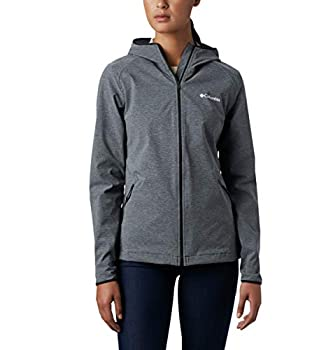 Columbia Women s Heather Canyon Softshell Jacket Black Medium