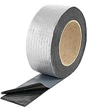 Poppstar - Cinta adhesiva de aluminio butilo (varios tamaños), color negro