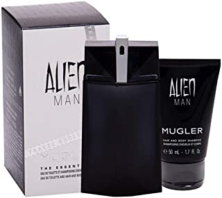 Thierry Mugler Eau de Toilette Spray and Shower Gel 2 Piece Gift Set for Men, 2 count