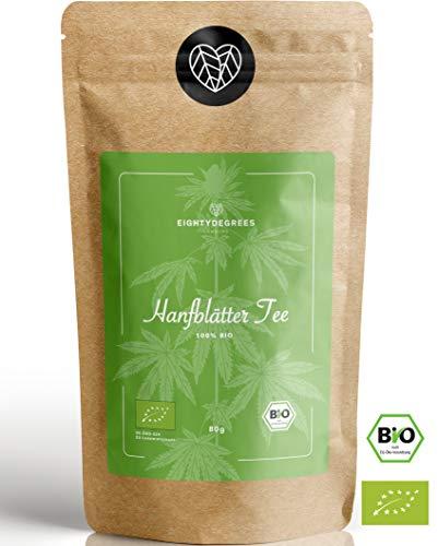 BIO Kräutertee - loser Abend-Tee - natürlicher Kräutertee vor dem Einschlafen - milder angenehmer Geschmack - 80g | 80DEGREES