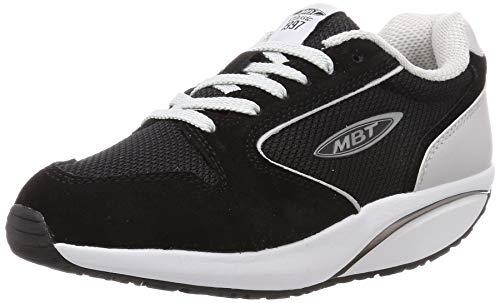 MBT Damen Mbt-1997 Classic W Sneakers, Schwarz (Black/Rock 1361y), 36 EU