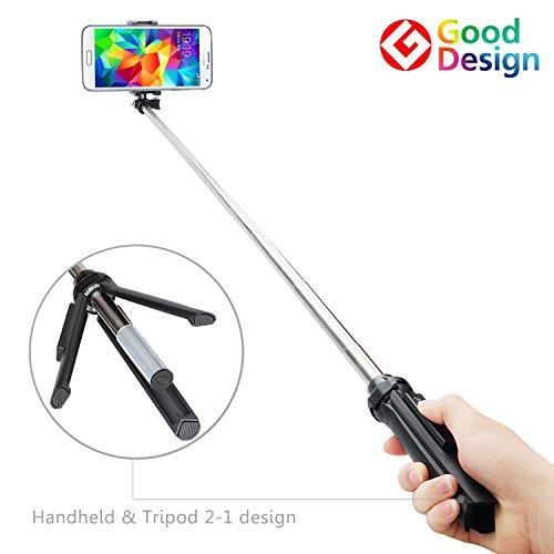 GEPRO X-Snap Handheld & Tripod 2-1 Self-portrait Monopod Extendable Selfie Stick