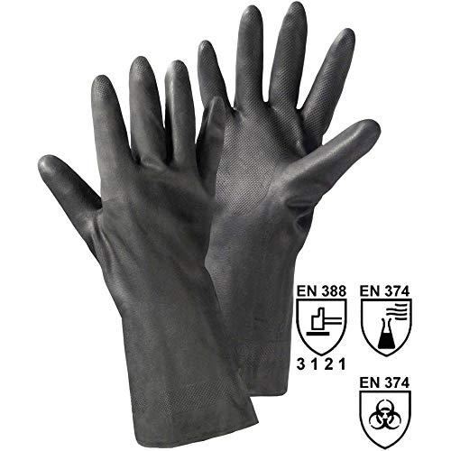 L+D 14611 Chloropren-Kautschuk Arbeitshandschuh Größe (Handschuhe): 8, M EN 388, EN 374 CAT II 1 Paar
