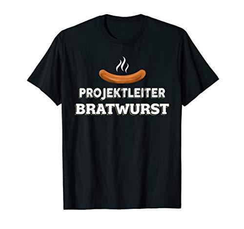 Grill BBQ Projektleiter Bratwurst Grillprofi Party T-Shirt