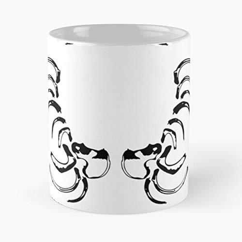 Desconocido Rockbell King Roy Alchemist Elric Edward Elricbrothers Alphonse Bradley Fullmetal Scar Winry Mustang Taza de café con Leche 11 oz