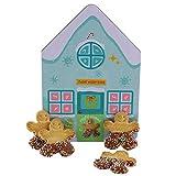 Becky´s Keksdose zu Weihnachten Sweet Winter Home mit knusprigen Keksen mit Schokolade - 113 g
