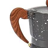 150/30 0ML Mocha Latte CoffeeFeer Italian Moka Espresso Cafeteira Percolador Pot Stovetop Cafetera Cafetera Aluminio Moka Cafeteira (Color : 300ml)