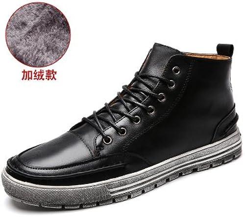GUNAINDMX Men's chaussures Spring Autumn High Casual chaussures bottes