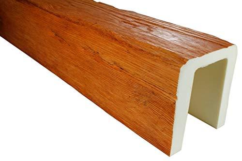 2 Meter | Balken | PU | Holzoptik | Deco Wood | 170x190mm | ED104.H