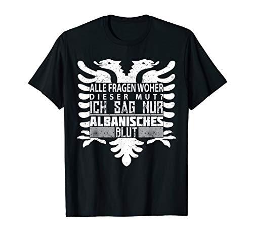 Albanien Albaner Logo Albanisch Spruch Adler Geschenkidee T-Shirt