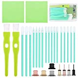 ADXCO Phone Cleaning Kit Charging Port Cleaning Tool Anti Dust Plug Brush Set Headphone Jack Cleaner Compatible with iPhone, iOS Android, Cell Phone, Electronics Cleaner