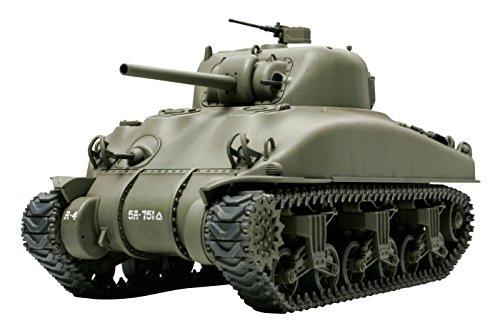 タミヤ 1/48 ミリタリーミニチュアシリーズ No.23 アメリカ陸軍 M4A1シャーマン戦車 プラモデル 32523