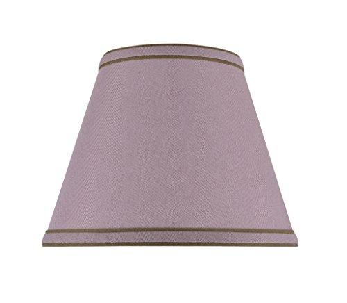 Aspen Creative 32041 Transitional Hardback Empire Shape Spider Construction Lamp Shade in Reddish Purple, 9' wide (5' x 9' x 7')