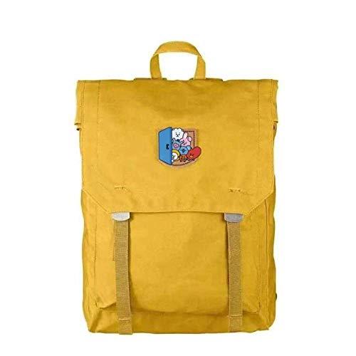 Hanggg Rugzak, reizen, buiten, schooltas, studententas, casual, sport, mannen en vrouwen 40.6 cm geel