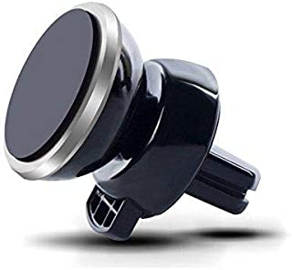 Universal 360 Degree Rotating Air Vent Magnetic Car Mount Cell Phone Holder Cradle for iPhone 6s Plus-6s-6,Galaxy S7-S7 Ed...