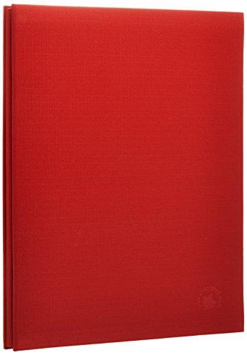 SEKISEI Fotoalbum Harper Huis A4 zwart 20 pagina's 11-20 pagina's stof rood XP-2501
