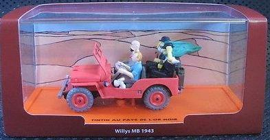 Générique Tintin - Jeep Willys MB 1943