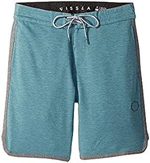 ヴィスラ VISSLA Kids キッズ 男の子 ショーツ 半ズボン Teal Heather Sofa Surfer Locker Fleece Shorts [並行輸入品]