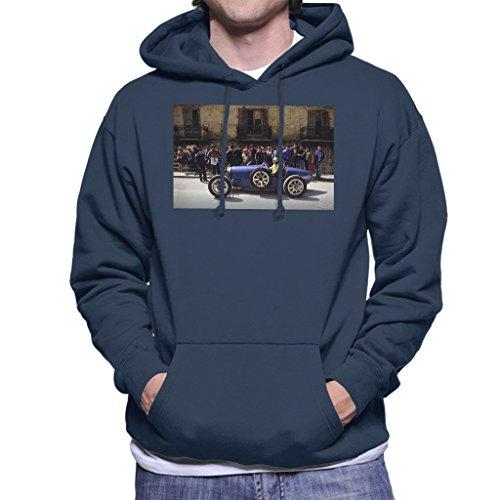 POD66 Martyn Goddard Officiële Fotografie - Bugatti Type 3 Racing Auto Shot Heren Hooded Sweatshirt