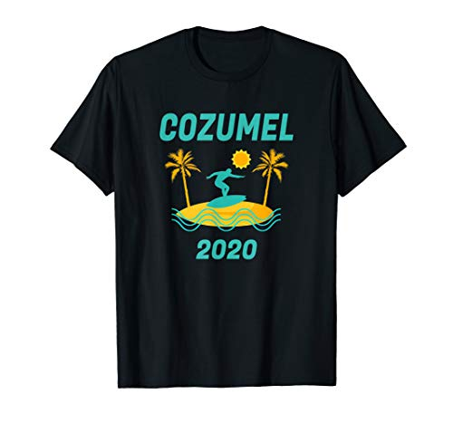 2020 Cozumel Vacation - Surf Beach Family Trip Gift T-Shirt