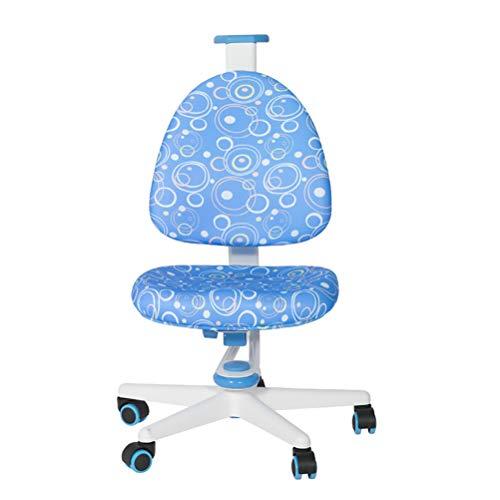 ZXYSR bureaustoel voor kinderen tieners klein kantoor computer student stoel geen armen lage rug, kinderen bureau stoel kinderen studie student computer stoel