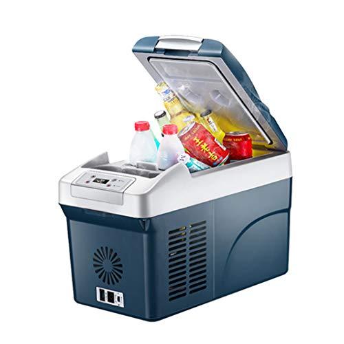 Congélateur de voiture12 / 24V DC / 220-240V AC, Mini congélateur réfrigérateur Double Usage pour Voiture à Grande capacité.